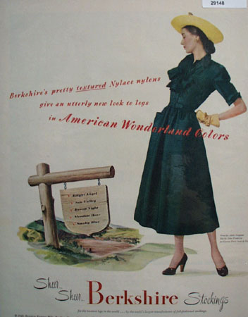 Berkshire Knitting Mills ad 1948