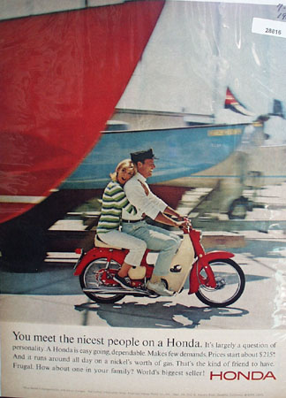 Honda Ad July 23, 1965