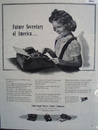 Underwood Elliott Fisher Co Ad April 22, 1944