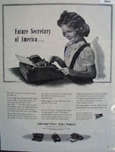 Underwood Elliott Fisher Co Ad April 22, 1944