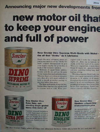 Sinclair Oil Ad June 17, 1966