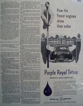 Union Oil Ad February 27, 1954