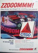 Citgo Ad 1965. Color Ad