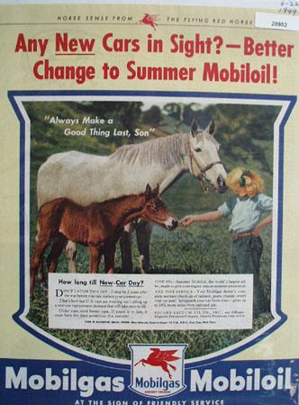 Socony Vacuum Oil Co Ad April 22, 1944