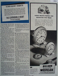 Westclox Ad July 21, 1945