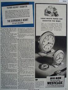 Westclox Ad July 21, 1945