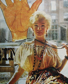 Marilyn Monroe In Many Roles. Article 1957