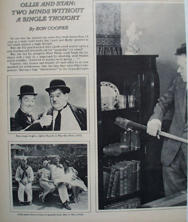 Laurel And Hardy Bell and Howell Ad 1941