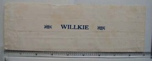 Vintage Willkie Cigar Wrapper