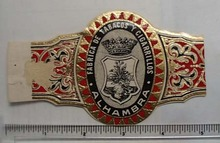 Vintage Alhambra Cigar Band