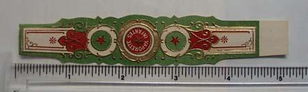 Vintage Vaporette Infantes Cigar Label