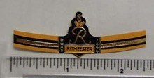 Vintage Ritmeester Cigar Band from Netherlands
