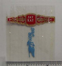 Vintage Jay Kay Cigar Band from Netherlands