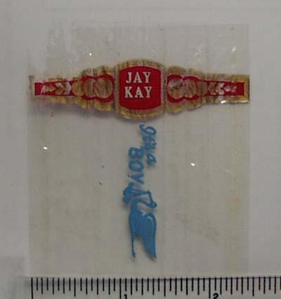 Vintage Jay Kay Cigar Band from Netherlands