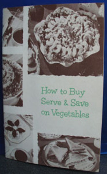 Lakeside Vegetables Cookbook 1954