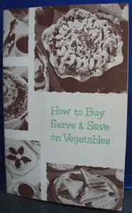 Lakeside Vegetables Cookbook 1954