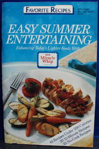 Kraft Miracle Whip Easy Summer Cookbook 1991
