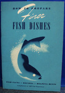 Fish Dishes by Marion Rouse Budd Cookbook 1941