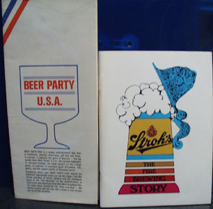 Strohs Beer History Beer Party Recipes 20th Century