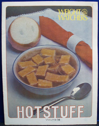 Weight Watchers Hotstuff Volume 16 Cookbook 1978