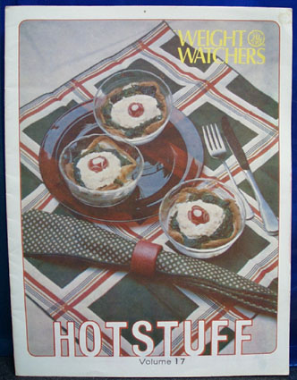 Weight Watchers Hotstuff Volume 17 Cookbook 1978