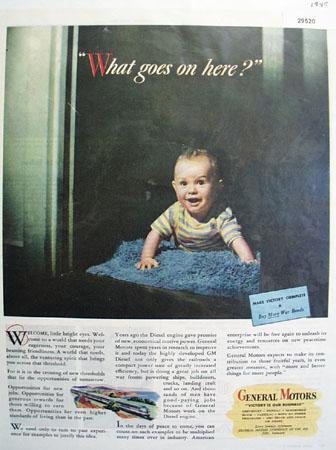 General Motors Diesel 1945 Ad.