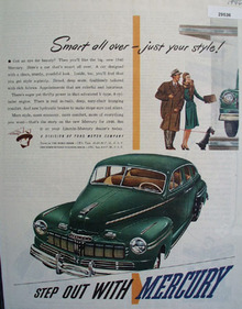 Mercury Car 1946 Ad