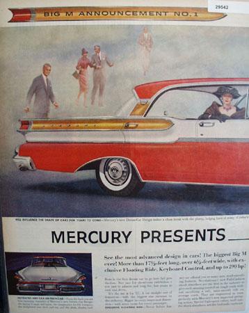 Mercury Dream Car 1956 Ad