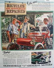 Oldsmobile Car 1945 Ad