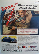 Oldsmobile Product of G M.1945 Ad