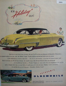 Oldsmobile Car 1949 Ad