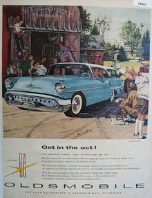 Super 88 Oldsmobile Car 1952 Ad