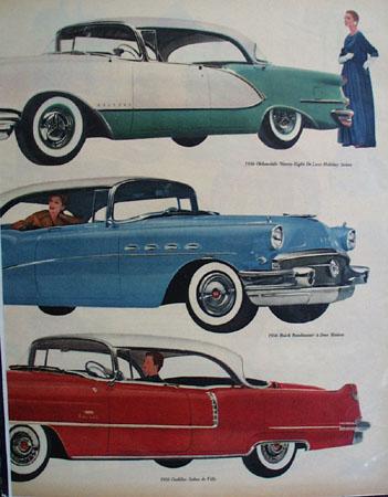 General Motor Car 1955 Ad