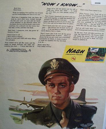 Nash Kelvinator Corp. 1945 Ad