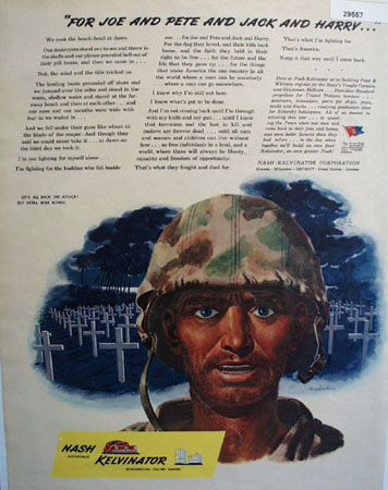 Nash Kelvinaror 1944 Ad