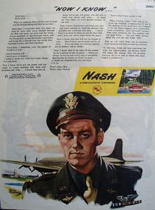 Nash Kelvinator 1945 Ad