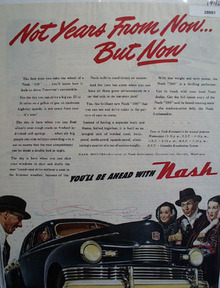 Nash Motors Car 1946 Ad