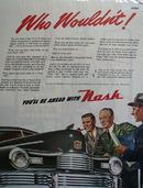 Nash Motor Car 1946 Ad