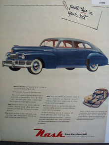 Great Cars since 1902 Nash 1948 Ad