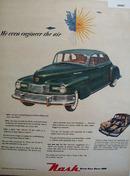 Nash Motor Division 1948 Ad