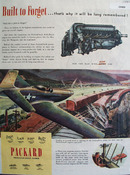 Packard Engine 1945 Ad
