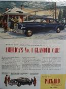 Packard Car 1945 Ad