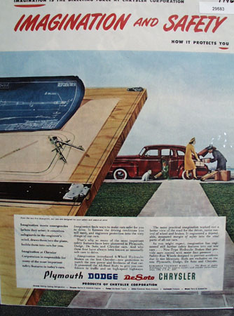 Chrysler Corp 1946 Ad