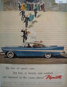 Plymouth Car 1952 Ad
