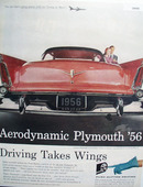Plymouth Car 1955 Ad