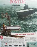 Pontiac Division of G M 1944 Ad