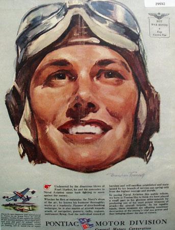 Pontiac  Motor Division 1944 Ad