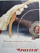 Pontiac 1945 Ad