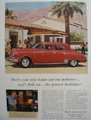 Studebaker Car 1947 Ad