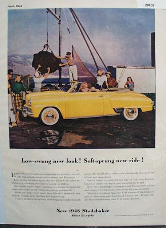 Studebaker Car Ad 1948